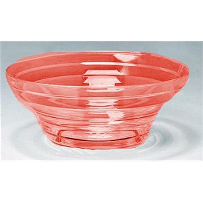 Creative Bath Products CH555CHILRRED Small Chili Red Bowl - Pack of 24