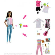Barbie Careers Surprise Closet Doll with Glasses & Accessories
