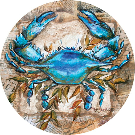 Thirstystone Occasions Drink Coasters, Blue Crab