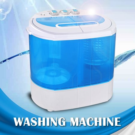 Zeny Mini Twin Tub Portable Dorm Room Compact 9.9lbs Washing Machine Washer Spin Dryer Laundry Genuine Electrolux Washing Machine