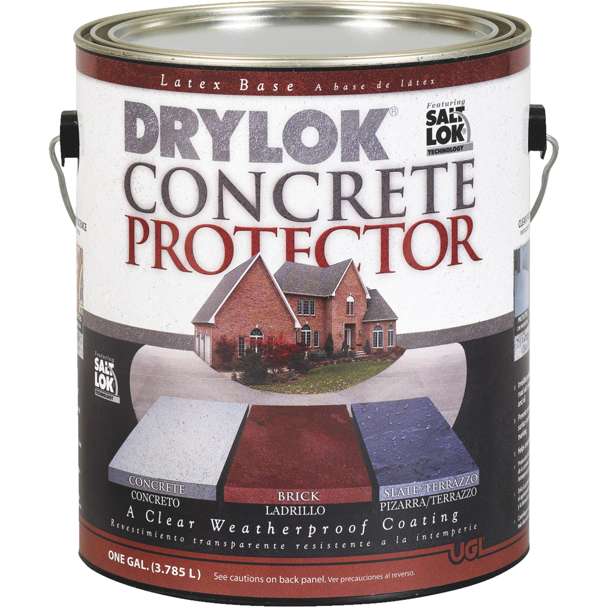 Drylok Concrete Protector With Saltlok Concrete Sealer by United Gilsonite Lab