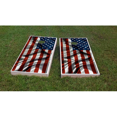 Custom Cornhole Boards Country Flags Cornhole Game Set by Custom Cornhole Boards