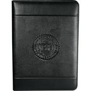 Leeds 0551-10 Windsor Impressions Zippered Padfolio Black