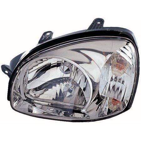 Go Parts 2003 Hyundai Santa Fe Front Headlight Headlamp Embly Housing Lens