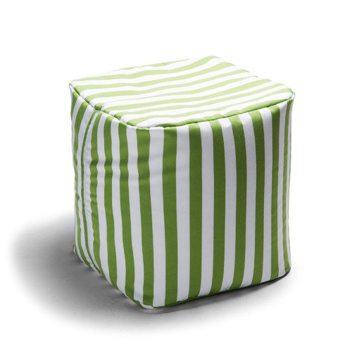Jaxx Jaxx Striped Outdoor Pouf Ottoman