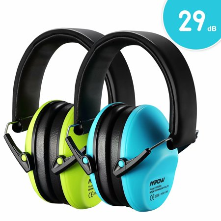 Mpow Kids Ear Protection 2 Pack, NRR 25dB Noise Reduction, Hearing Protection for Kids, Toddler Ear Protection for Hunting Season, Shooting Range, Car Race, Traveling, with Carrying