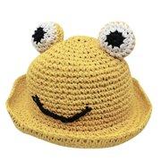 nomeni (3-5 Years)Summer Baby Cartoon Kids Boy Girl Breathable Hat Straw Hat Bucket Fisherman Cap
