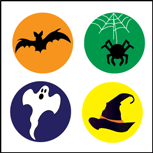 Incentive Stickers - - Creative Halloween Arts And Crafts