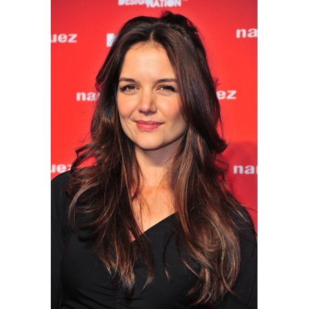 Katie Holmes At Arrivals For Kohls Department Store Launch Of Narciso Rodriguez For Designation Collection Rolled Canvas Art     8 X 10