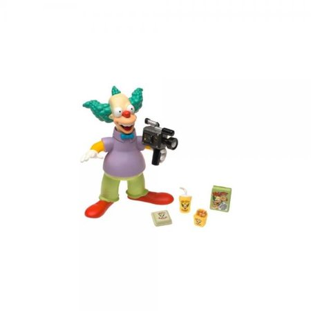 The Simpsons Wave 1 Action Figure Krusty the Clown - Krusty The Clown