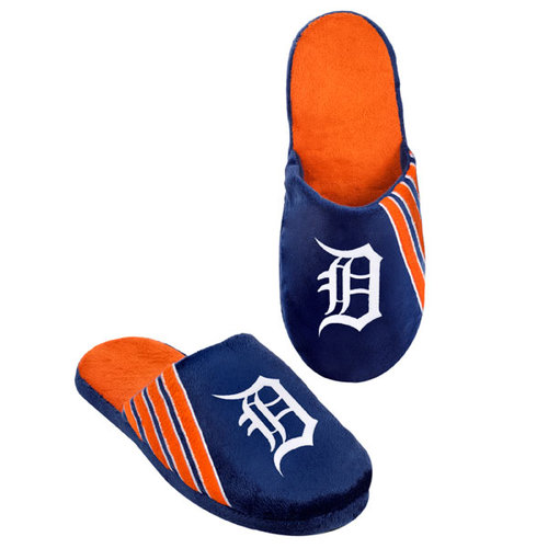 MLB - Detroit Tigers Hard Sole Stripe Slipper