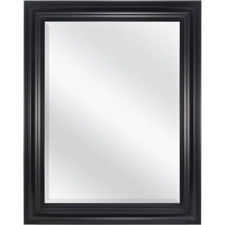 "Mainstays Beveled Wall Mirror, 23"" x 29"", Available in Multiple Colors"