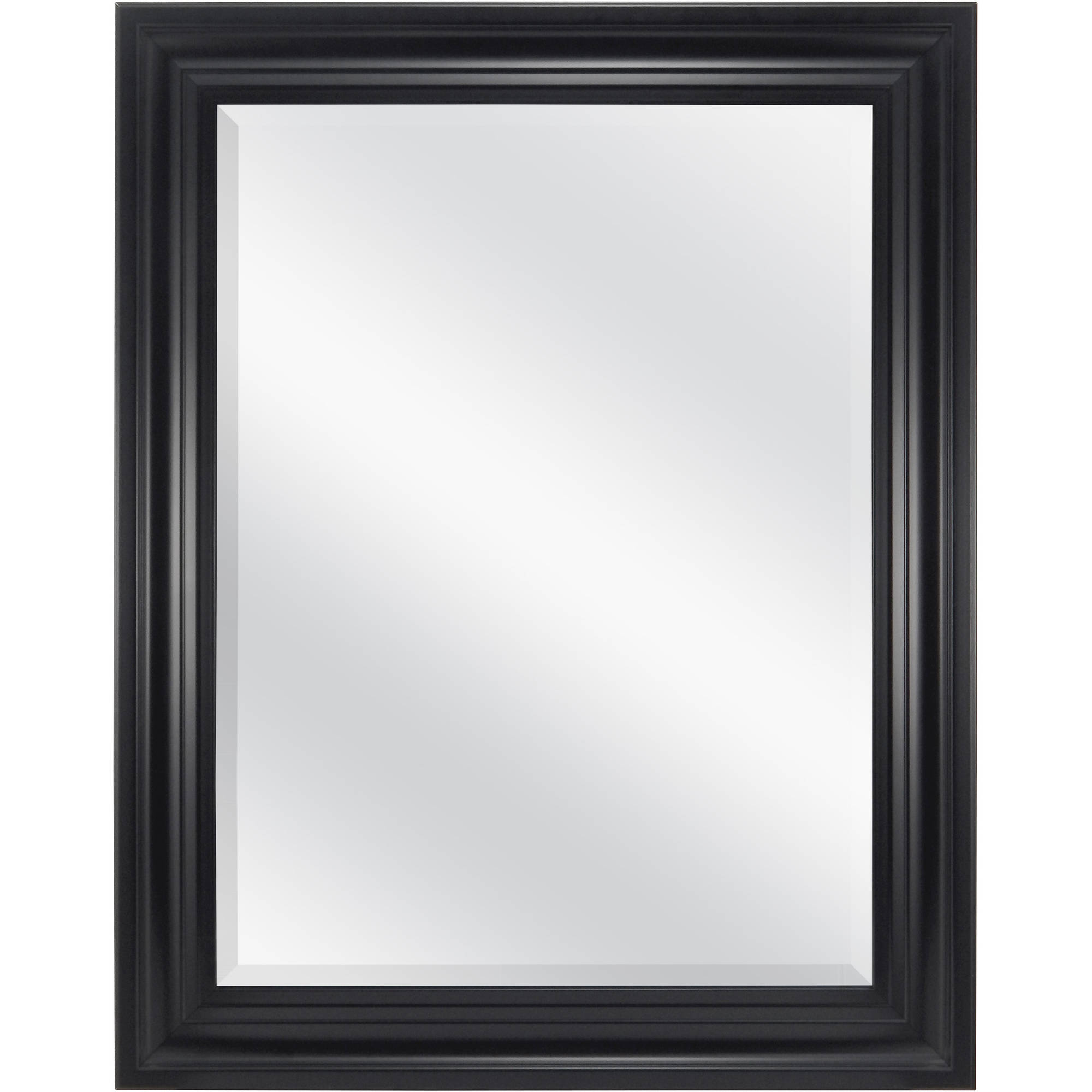 """Mainstays Beveled Wall Mirror, 23"""" x 29"""", Available in Multiple Colors"""