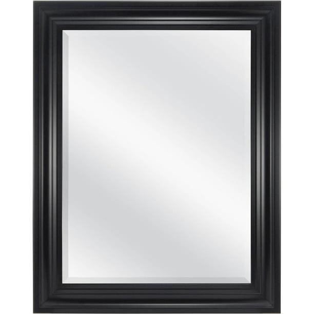Mainstays Bevelled Wall Mirror 23 X, Lightweight Bathroom Mirror