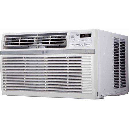 LG Electronics LW8015ER Energy Efficient 8,000-BTU 115V Wind