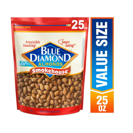 Rhody Almond (Blue Diamond Almonds, Smokehouse, 25 Oz )
