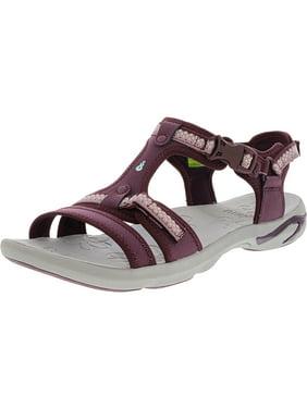 56b66f6e7 Product Image Ahnu Women s Moonstone Lace Dark Plum Ankle-High Sandal - 10M