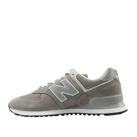 Best New Balance 574 Grey/Silver Men