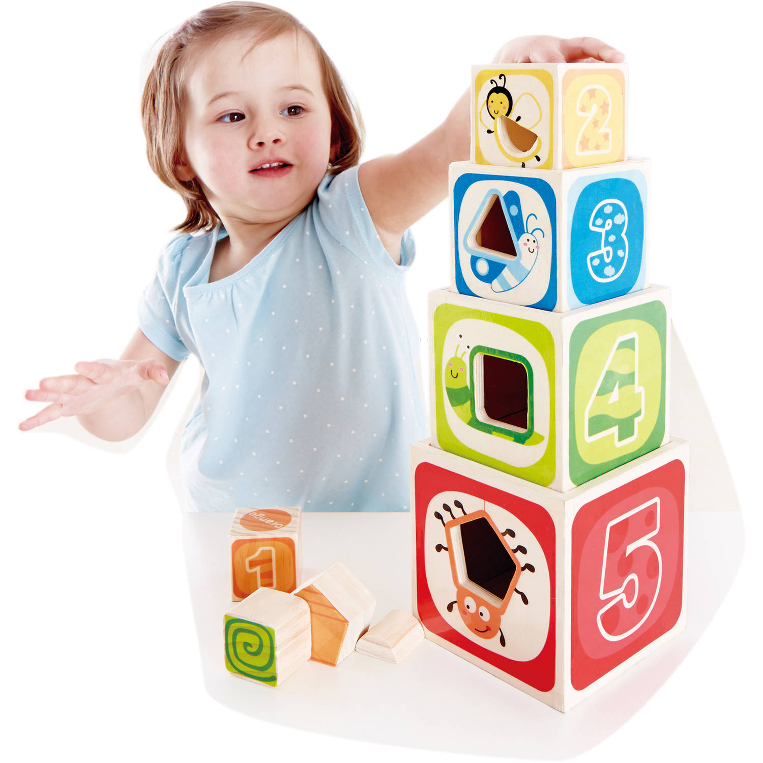 J adore ABC Nesting Blocks and Stacking Sorter Walmart