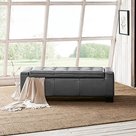 Mirage Ottoman Grey Walmart Adorable Living Rooms With Ottomans Exterior