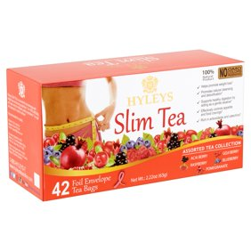Hyleys Wellness Slim Tea 2 Pack Garcinia Cambogia Green Tea