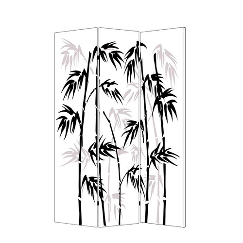 Screen Gems 72'' x 48'' Baraboo Leaf 3 Panel Room Divider