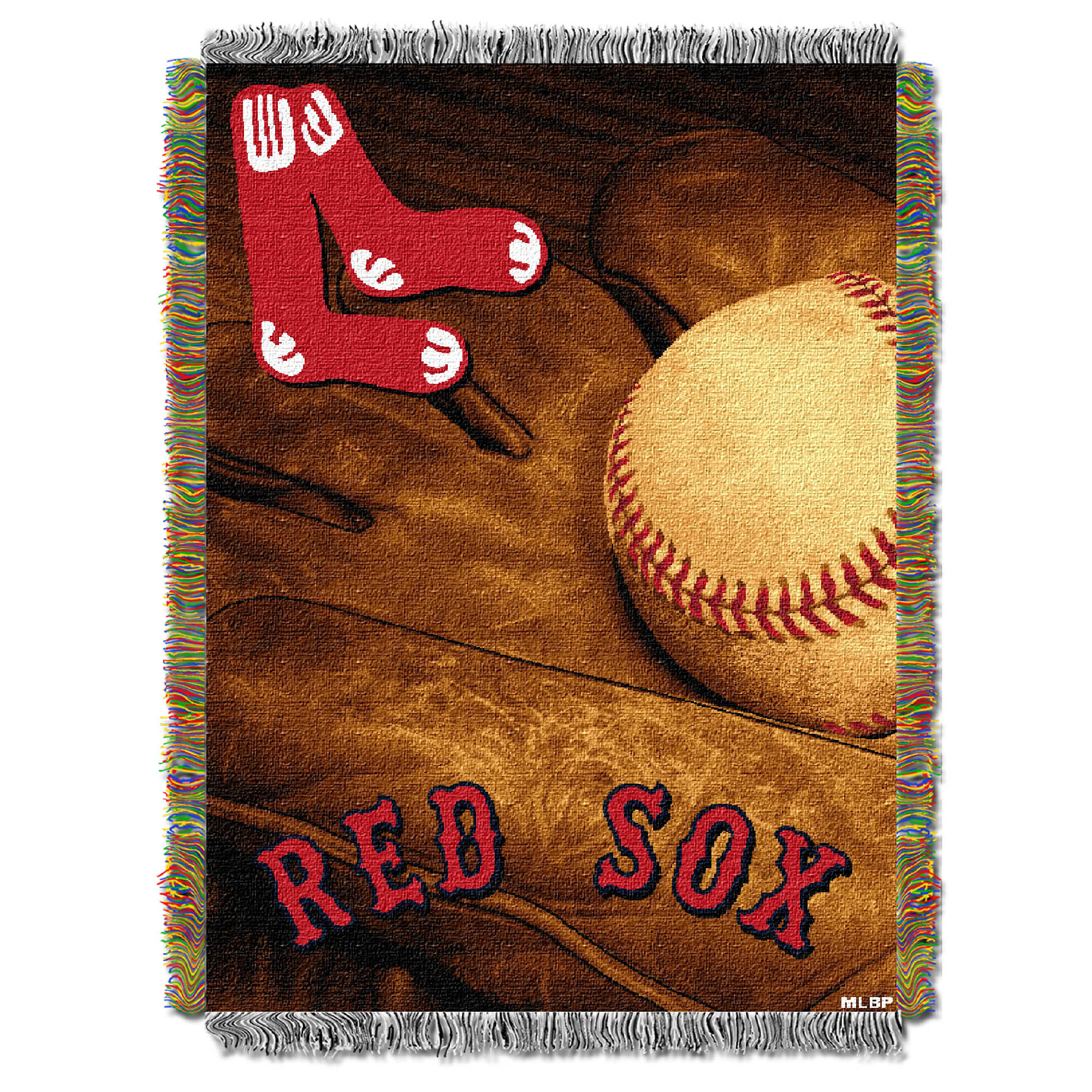 Boston Red Sox The Northwest Company 48'' x 60'' Vintage Woven Tapestry Throw - No Size