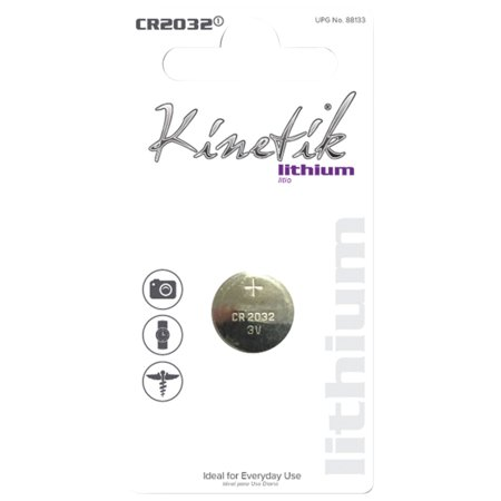 Kinetik 88133 Lithium Battery, CR2032, Single