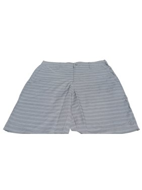 Hang Ten Men's Hybrid Short, Gray Stripe, Size 40