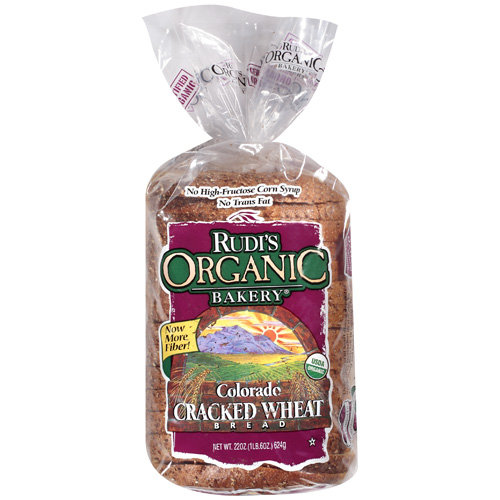 Rudi's Organic Bakery Colorado Cracked Wheat Sliced Bread, 20 oz