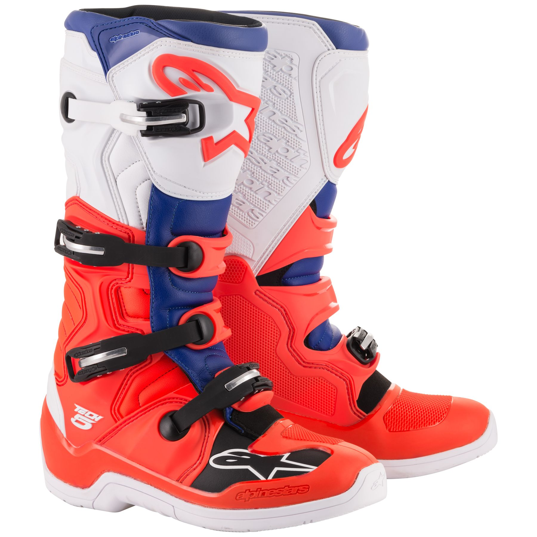 Multi, one/_size Alpinestars Unisex-Adult Tech 7S Magneto Boots Blk//Red Fluo//Wht//Gry Sz 05