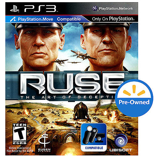 Ruse: Art Of Deception (PS3) - Pre-Owned
