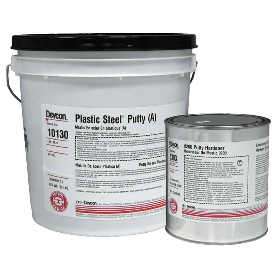 DEVCON 25LB CAN PLASTIC STEEL