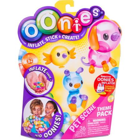 Oonies Theme Refill Pack Pet Scene