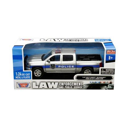 2017 Chevrolet Silverado 1500 LT Z71 Crew Cab Police Silver