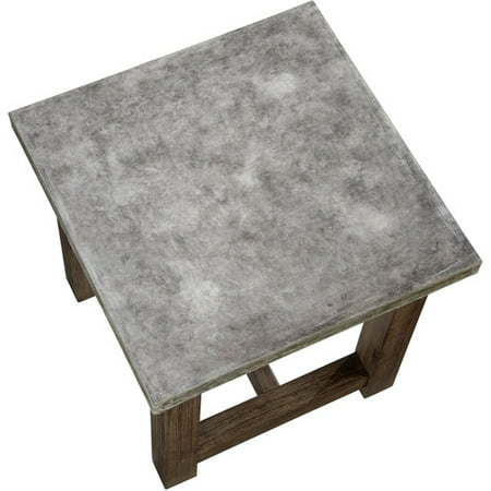 Concrete Chic Square Coffee Table