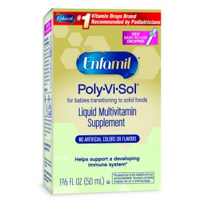 Enfamil Poly-Vi-Sol Liquid Multivitamin Supplement, 1.67 fl oz