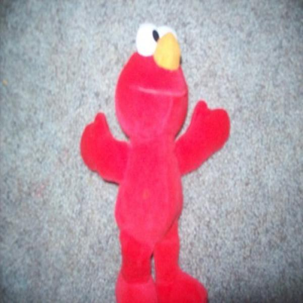 Tyco 123 Sesame Street Plush Doll, Elmo - 9 Inches
