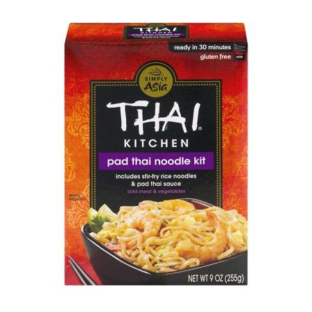 Thai Kitchen Gluten Free Original Pad Thai Stir Fry Noodles, 9 oz