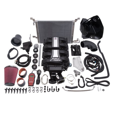 2005 Mustang Supercharger (Edelbrock 15896 E-Force Stage-2 Track Systems Supercharger System Fits Mustang )