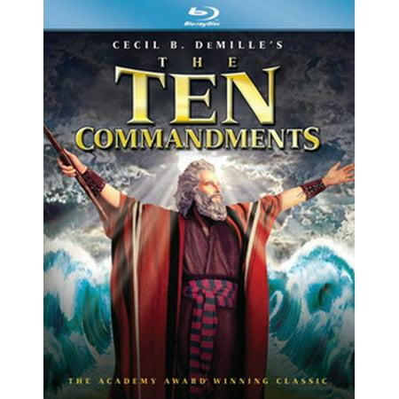 The Ten Commandments (Blu-ray) ()