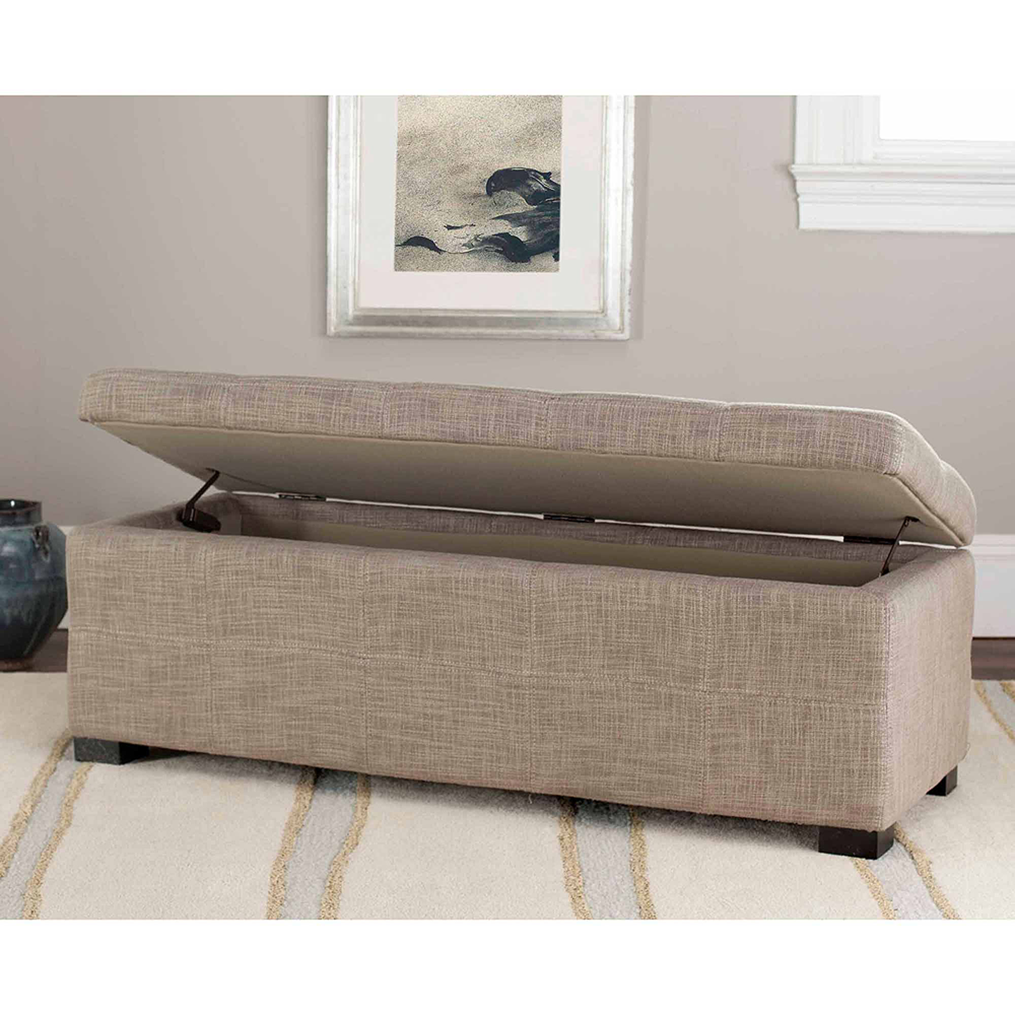 Safavieh Madison Large Storage Bench, Multiple Colors