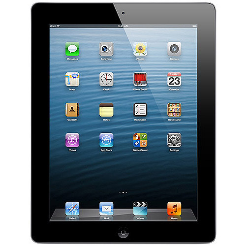 Apple iPad 2 Tablet MC769LL/A 16GB Wifi, Black (Refurbished)