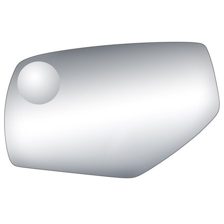 99283 - Fit System Driver Side Mirror Glass, Chevrolet Silverado/ Sierra 1500 14-18, Silverado/ Sierra 2500, 3500 15-18