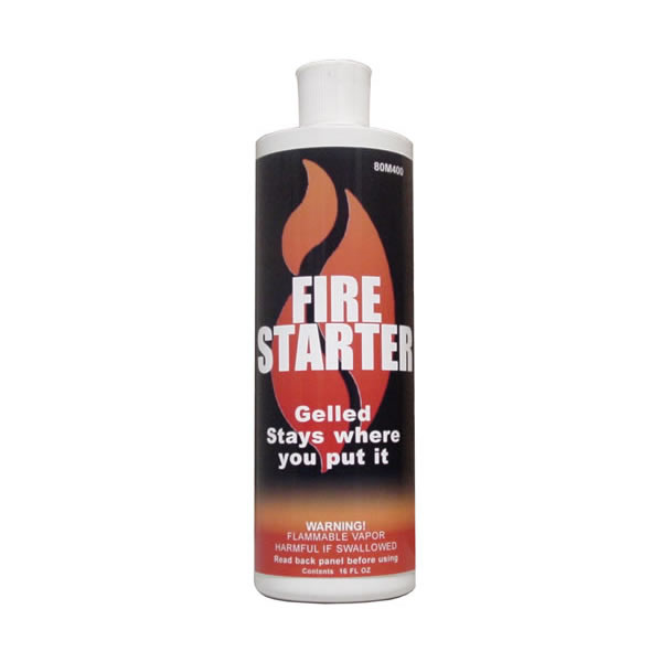 Stove Bright Gelled Fire Starter, Case Of Twelve 16 oz. Bottles by FORREST PAINT CO.