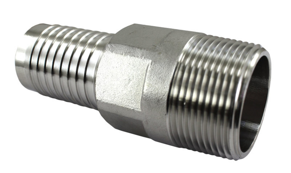 """Male to Male Garden 1//2/"""" NPT Stainless Steel Fitting ~ Shower Adapter Hose"""