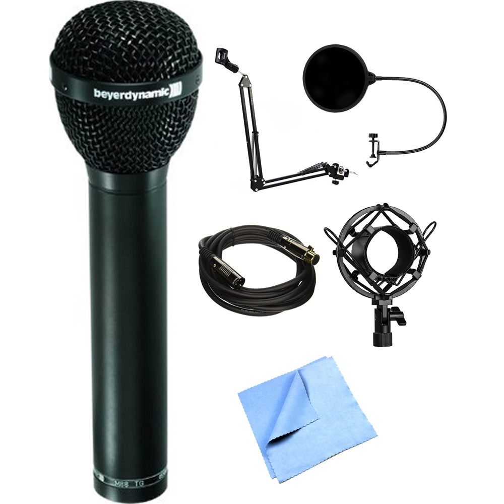 BeyerDynamic Dynamic Hypercardioid Polar Pattern Microphone for Vocals and Kick Drum... by Beyerdynamic