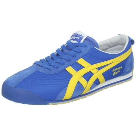 free shipping 44460 111d4 Onitsuka Tiger Fencing Lace-Up Fashion Sneaker - Royal Blue/Yellow (Unisex)