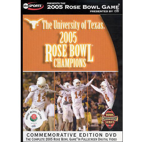 The University Of Texas 2005 Rose Bowl Champions, (Commemorative Edition) (Full Frame)