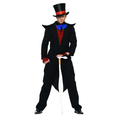 Evil Mad Hatter Adult Costume - - Mad Hatter And Red Queen Costumes